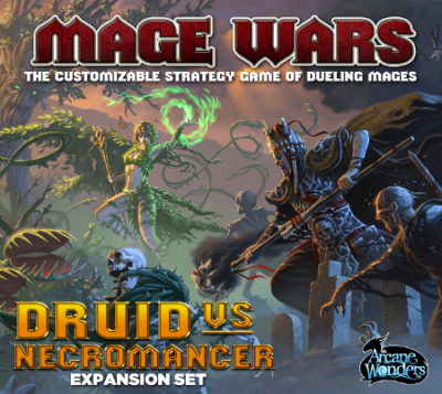 Mage Wars: Druidin vs. Nekromant
