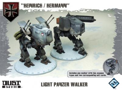 """Dust Tactics: Light Panzer Walker - """"Heinrich / Hermann"""""""