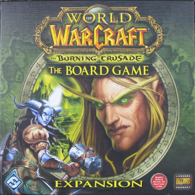 Sidste nye World of Warcraft: The Boardgame - The Burning Crusade - bedste YR-69