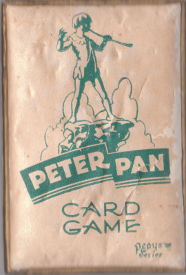 Peter Pan Card Game