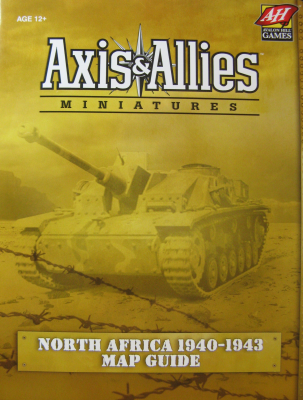Axis & Allies Miniatures 1940-1943 North Africa  Map Guide