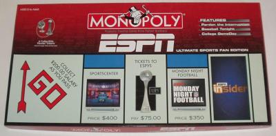 Monopoly: ESPN Ultimate Sports Fan