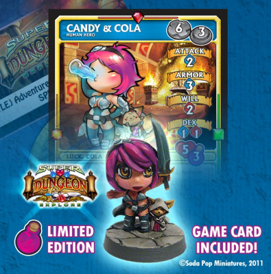 Super Dungeon Explore: Candy and Cola