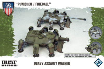 "Dust Tactics: Heavy Assault Walker - ""Punisher / Fireball"""