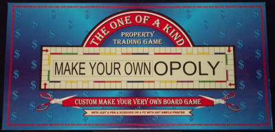 Make Your Own Opoly