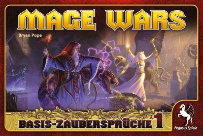 Mage Wars: Basis Zaubersprüche