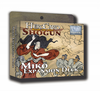 HeroCard Rise of the Shogun Miko Expansion Deck
