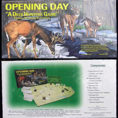Opening Day: A Deer Hunters Game