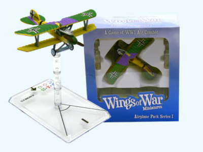 Wings of War: WW1 Airplane Pack - Albatross D.Va (Kurt Jentsch)