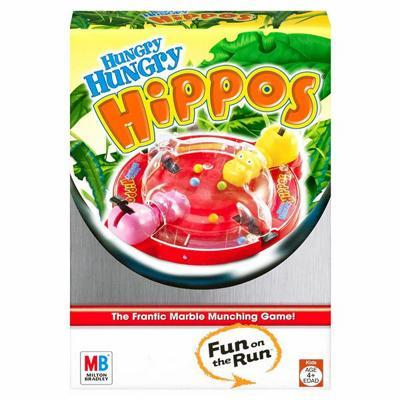 Hungry Hungry Hippos Fun on the Run Game