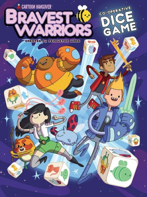 Bravest Warriors Co-operative Dice Game