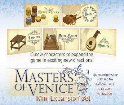 Masters of Venice: Mini-Expansion Set