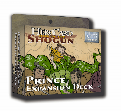 HeroCard Rise of the Shogun Prince Expansion Deck