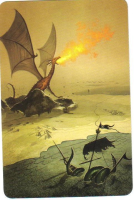 "Dixit: ""The Dragon"" promo card"