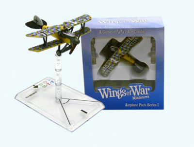 Wings of War: WW1 Airplane Pack - Albatross D.Va (Ludwig Weber)