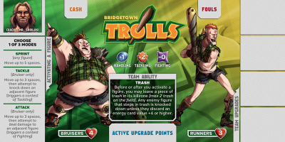 Kaosball: Team – Bridgetown Trolls