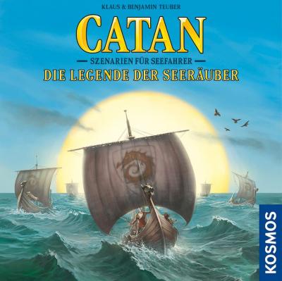 Catan: Szenarien für Seefahrer – Die Legende der Seeräuber
