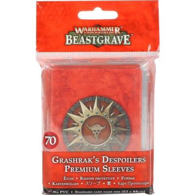 Warhammer Underworlds: Grashrak's Despoilers Sleeves Pack