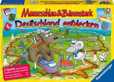 Mauseschlau & Bärenstark: Deutschland entdecken