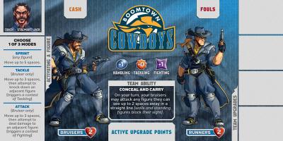 Kaosball: Team – Boomtown Cowboys