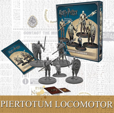 Harry Potter Miniatures Adventure Game: Piertotum Locomotor