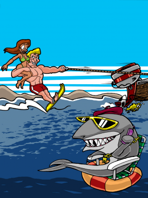 Jump the Shark: A Storytelling Gambling Game