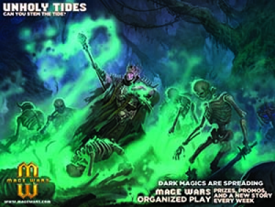 Mage Wars OP-Kit: Unholy Tides