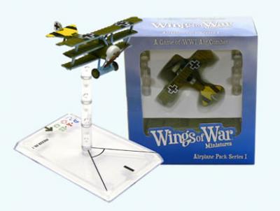 Wings of War: WW1 Airplane Pack - Fokker Dr.I (Arthur Rahn)