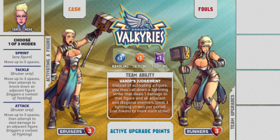 Kaosball: Team – Asgard Valkyries