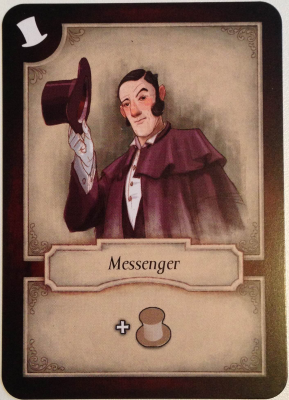 Last Will: Messenger Promo Card