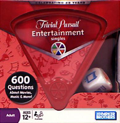 Trivial Pursuit Singles: Entertainment