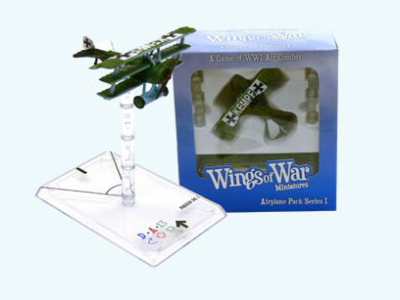 Wings of War: WW1 Airplane Pack - Fokker Dr.I (Fritz Kempf)