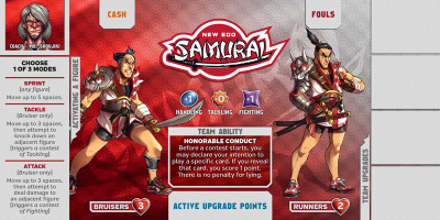 Kaosball: Team – New Edo Samurai
