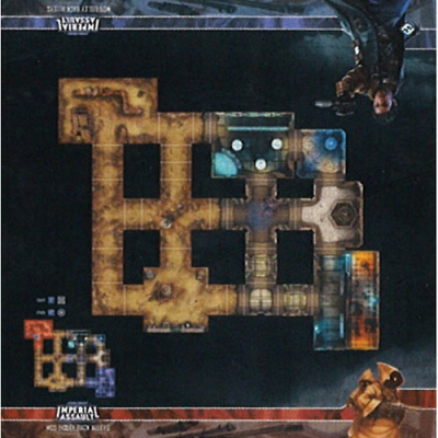 Star Wars: Imperial Assault Skirmish Maps - Mos Eisley Back Alleys