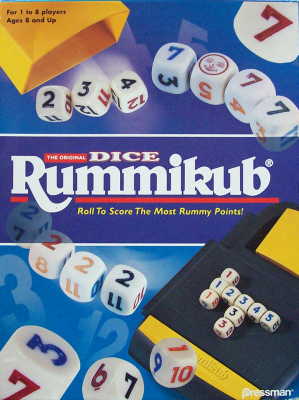 Rummikub Rummy Dice Game