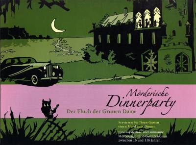Mörderische Dinnerparty: Der Fluch der grünen Dame