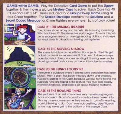 Jigsaw Mystery Pack