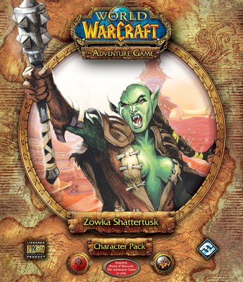 World of Warcraft: The Adventure Game; Zowka Shattertusk   Character Pack