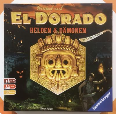 The Quest for El Dorado: Heroes & Demons