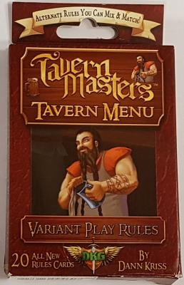 Tavern Masters: Tavern Menu Expansion