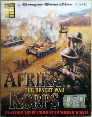 Panzer Grenadier: Afrika Korps; The Desert War