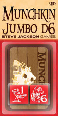 Munchkin Jumbo d6