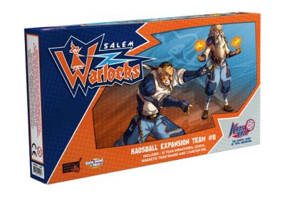 Kaosball: Team – Salem Warlocks