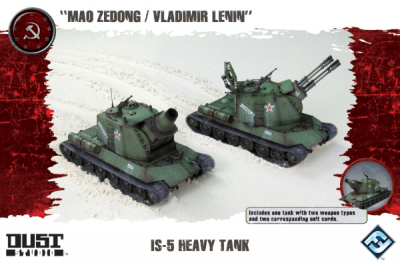 "Dust Tactics: IS-5 Heavy Tank - ""Mao Zedong / Vladimir Lenin"""