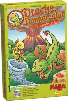 Drache Donnerzahn: Die Feuerkristalle