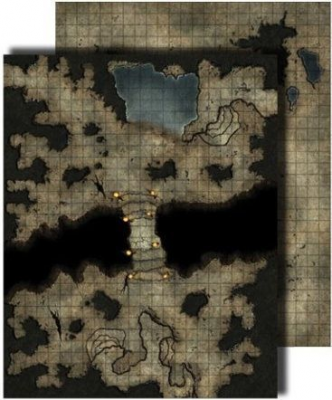 GameMastery Flip-Mat: Darklands