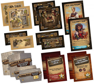 Saloon Tycoon: Boomtown Expansions
