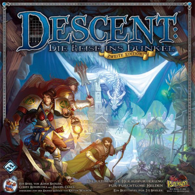 Descent: Die Reise ins Dunkel (second edition)
