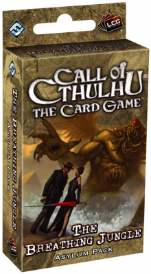 Call of Cthulhu: The Card Game - The Breathing Jungle  Asylum Pack