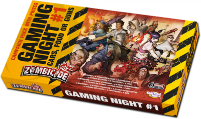 Zombicide Gaming Night #1: Cars, Food or Guns